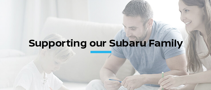 Supporting our Subaru Family