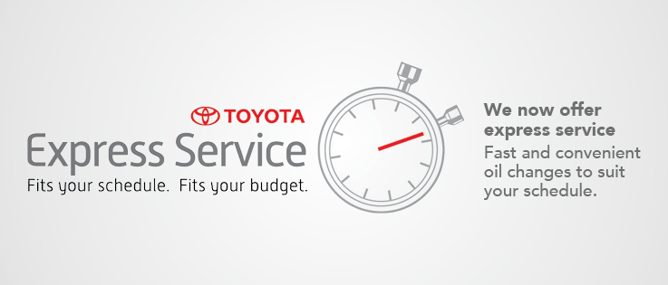 Toyota Express Service
